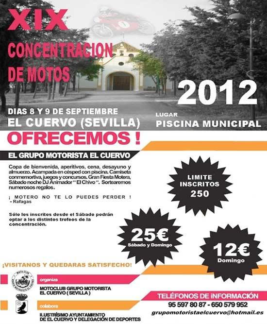 Concentracion motera el cuervo 2013 sevilla informaci n - El tiempo el cuervo de sevilla ...