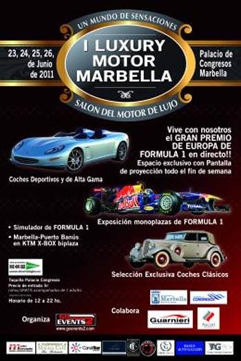 Luxury Motor Marbella 2011 Guia Tour racing· Salon del