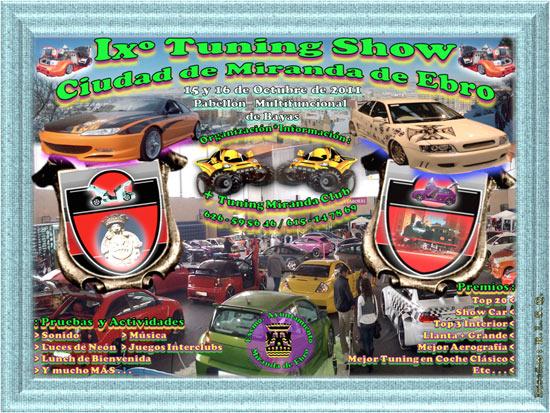 Tuning show miranda de ebro 2011 burgos guia tour racing for Hoteles en miranda de ebro burgos