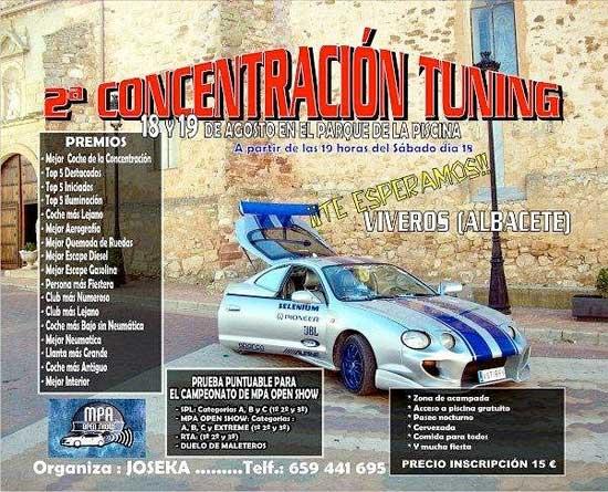 Concentraci n tuning viveros 2012 albacete guia tour for Viveros albacete