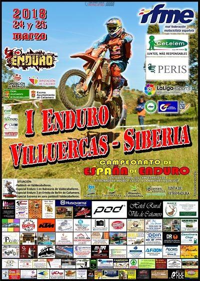 cartel I Enduro Villuercas